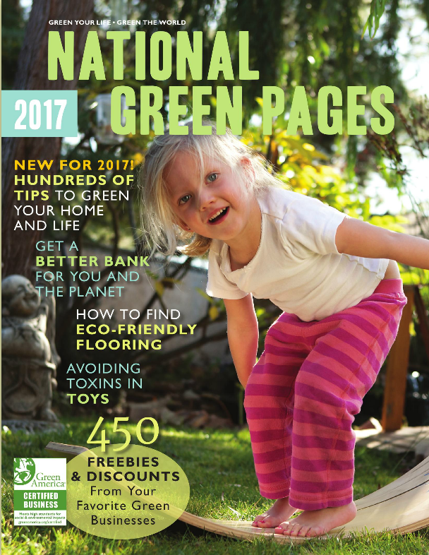 New and Expanded '2017 National Green Pages' is an Awesome Holiday Gift Guide and Resource