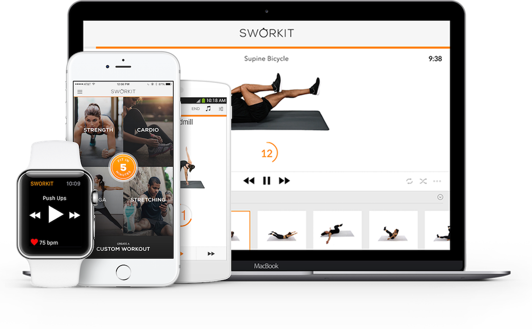Sworkit: Breaking Down the Basics of the App