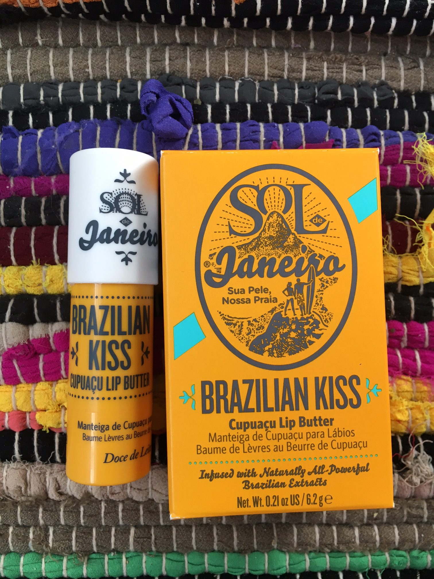 beauty review: Sol de Janeiro Brazilian Kiss Cupuaçu Lip Butter
