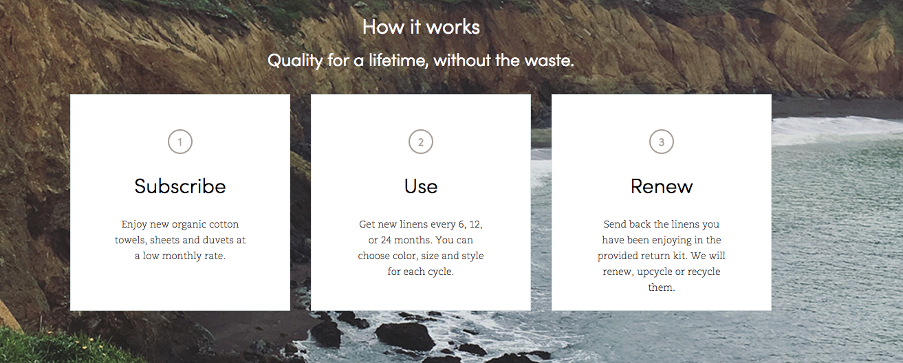 Coyuchi For Life: New Subscription Service for Environmentally Sustainable Linens