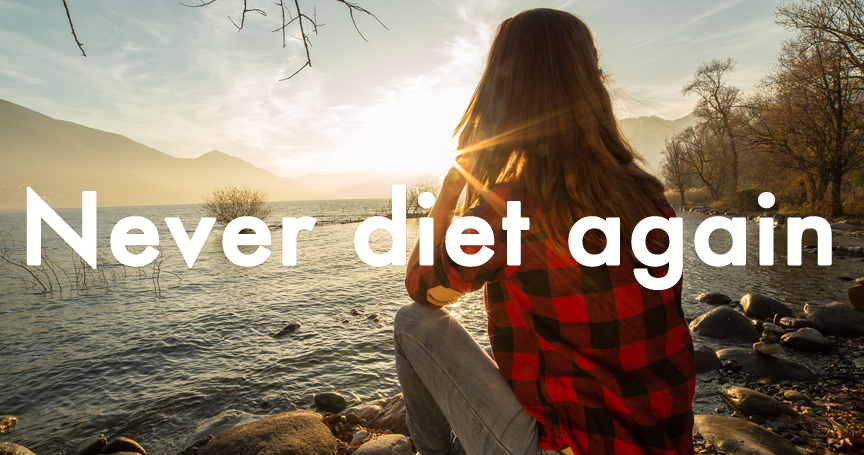 never diet again with goevo app