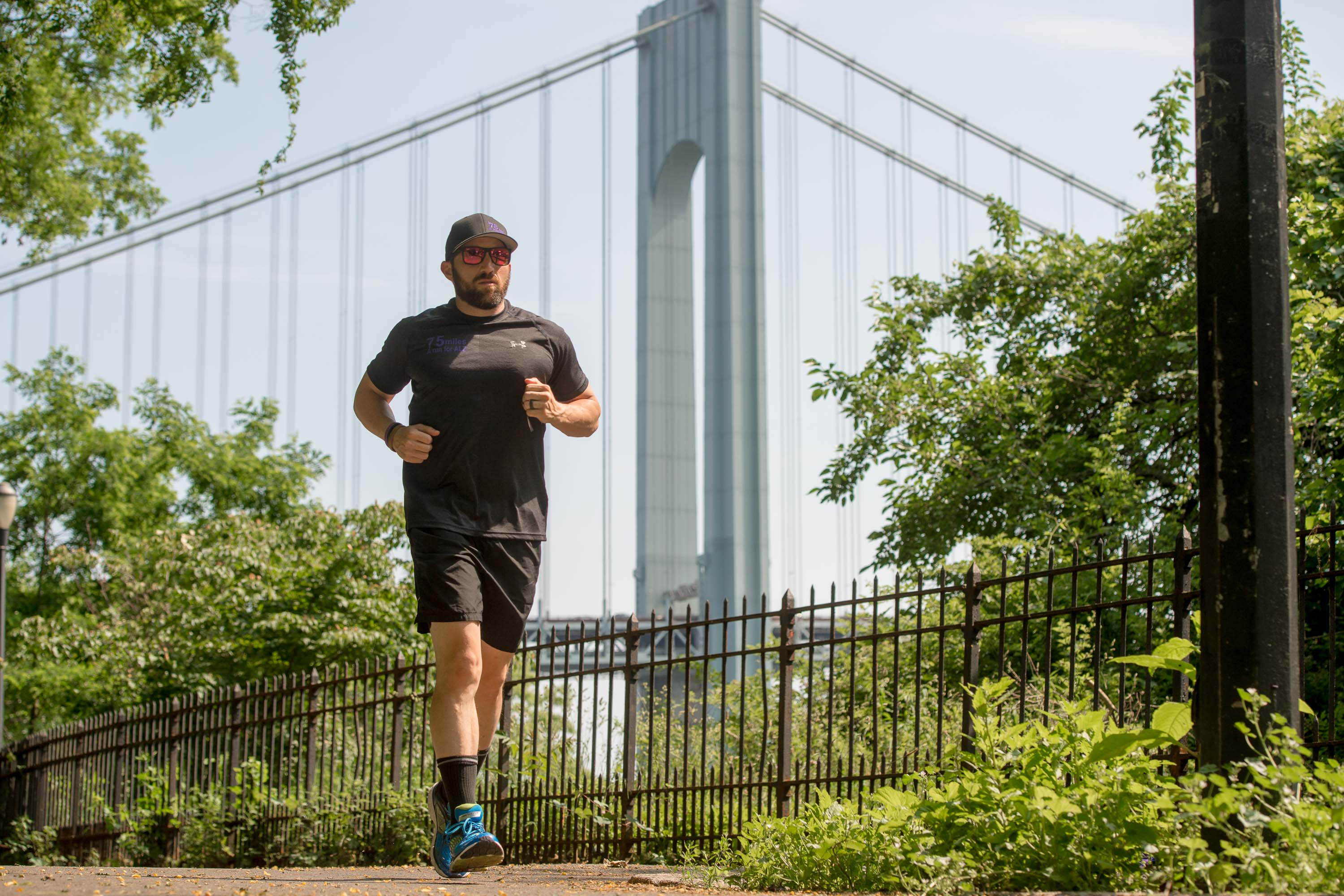 New Yorker Jay Asparro to Run 75 Miles for Alzheimer's in Grandparents Honor