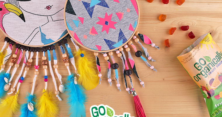 Getting Crafty: DIY Upcycled Dreamcatcher