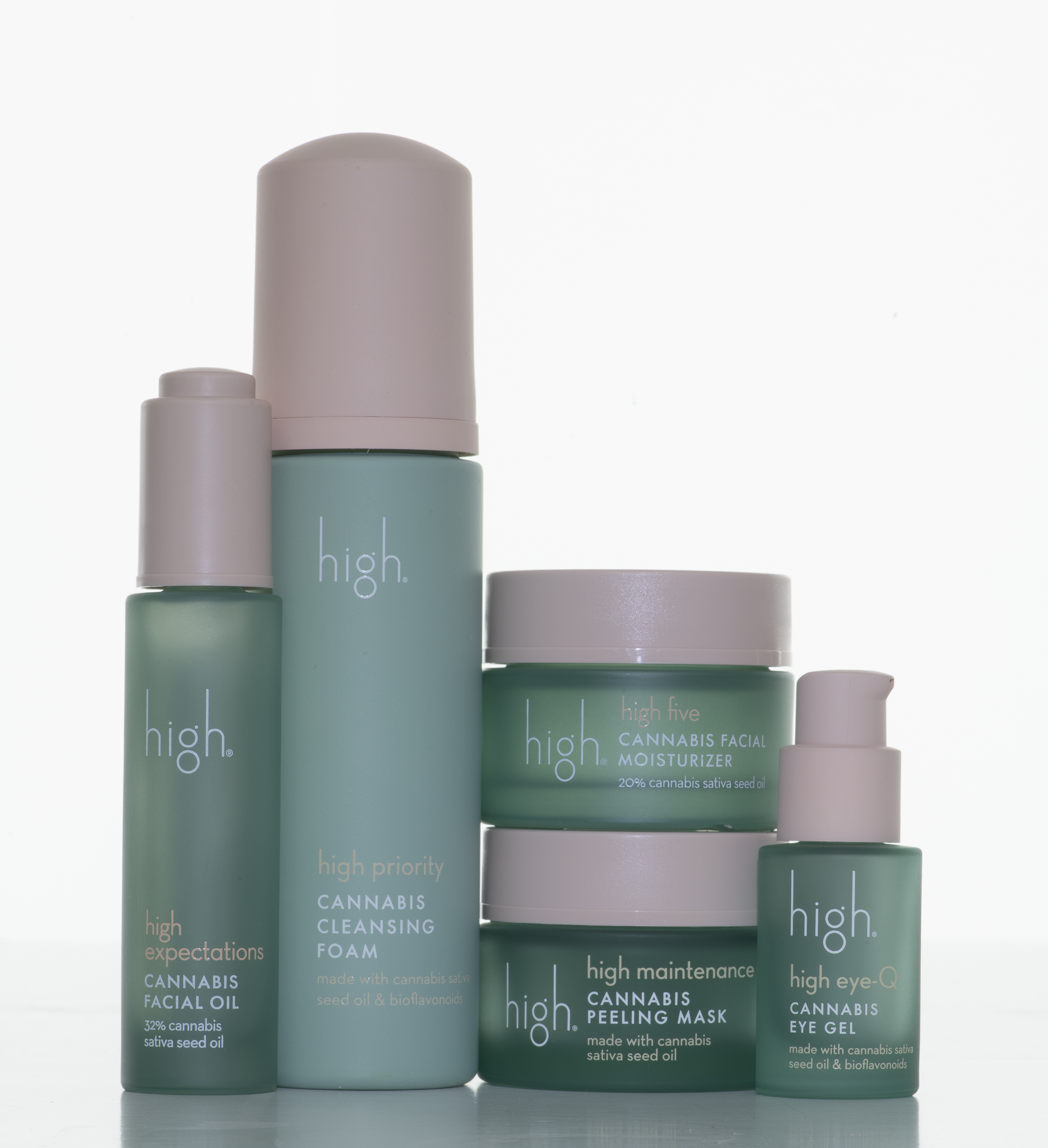 high Beauty: A Cannabis Sativa Seed Oil-Based Beauty Line