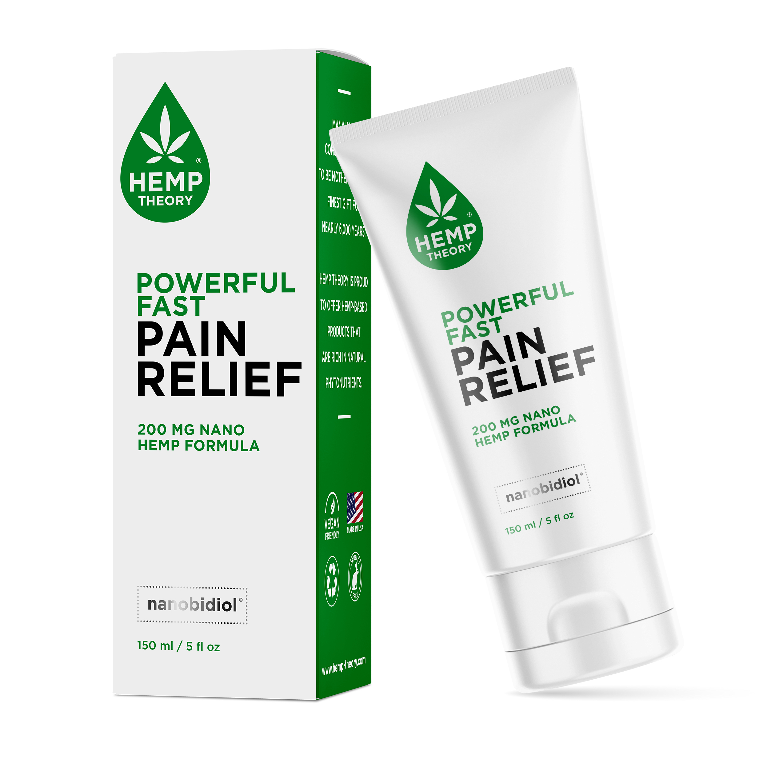 Hemp Theory Powerful Fast Pain Relief Cream