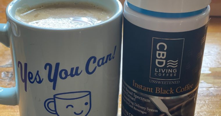 Morning Boost with CBD Living Instant Coffee